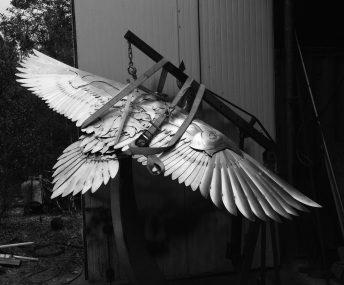 bird public art florida