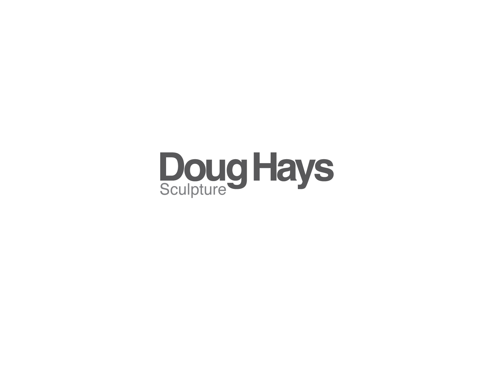 DougHays-LogoScreen-Gray1500