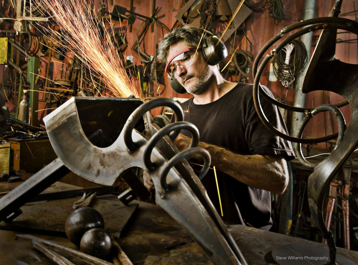 Steve Williams Photography American Sculptor Doug Hays