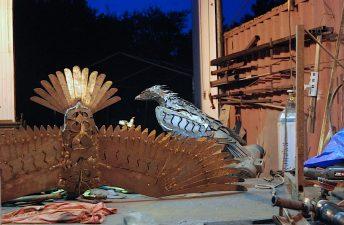 bird sculpture osprey doug hays