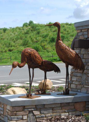 crane sculpture florida