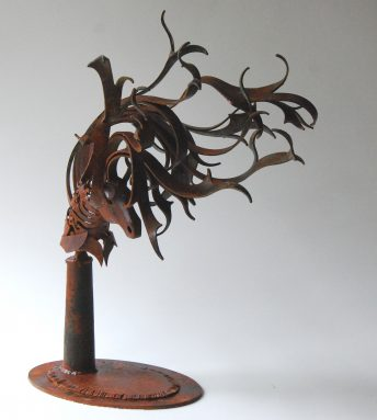 metal horse sculpture for sale