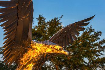 osprey sculpture site-specific