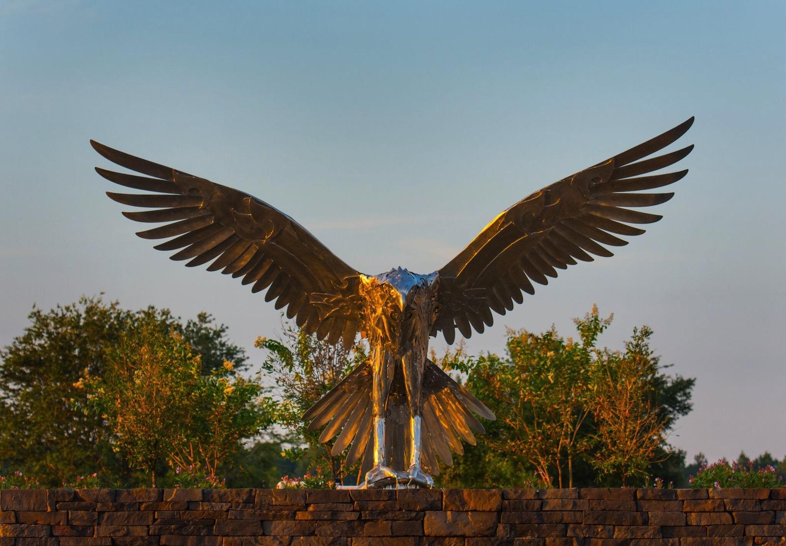 Osprey Sculpture Site Specific