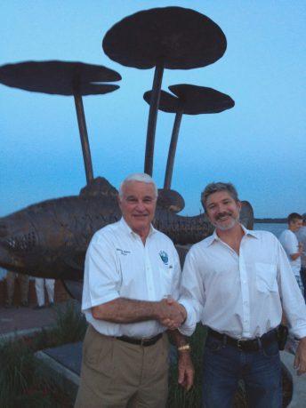largemouth bass sculpture doug hays american sculptor