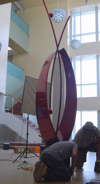 hospital sculpture corporate art